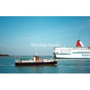 MV Brightlingsea at Harwich