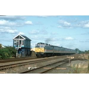 Hickleton Colliery Sidings SB (47836 passing)