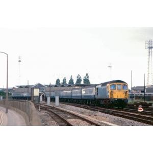 Poole SB (33012 passing)