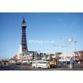 Blackpool Tram 8 at Blackpool