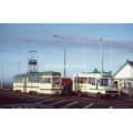 Blackpool Tram 11 and Lancashire Lad D784 JUB at Fleetwood
