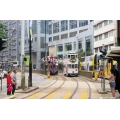 Hong Kong trams 2 & 45 at North Point