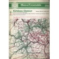West Yorkshire Metro (Kirklees) 1978 bus timetable