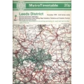 West Yorkshire Metro (Leeds) 1979 bus timetable